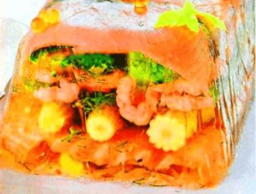 Рецепты заливных блюд