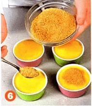 Десерт из груши со сливкам