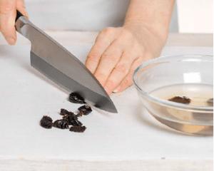 Борщ с грибами, фасолью и черносливом