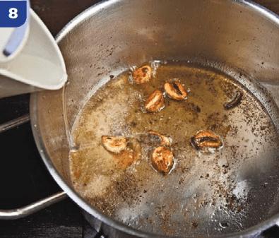 """Рецепт приготовления блюда """"Ароматный цыпленок""""."""