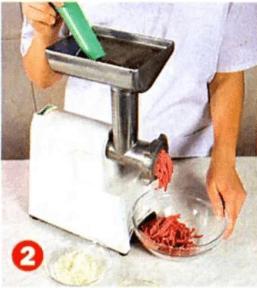 Тефтели из говядины с отварным рисом