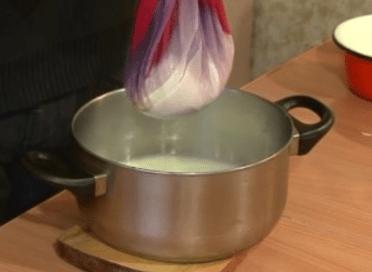 Рецепт домашнего творога