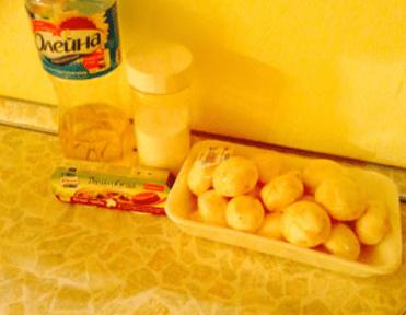 Рецепт приготовления белых грибов или шампиньонов